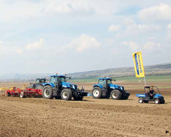 New Holland demonstreaza la Brno forta noilor tractoare - Agrimedia.ro